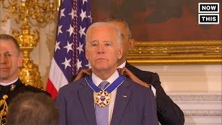 Joe Biden Given Medal of Freedom By Obama