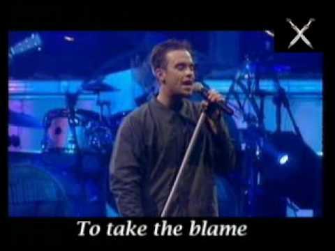 robbie williams - better man (karaoke)