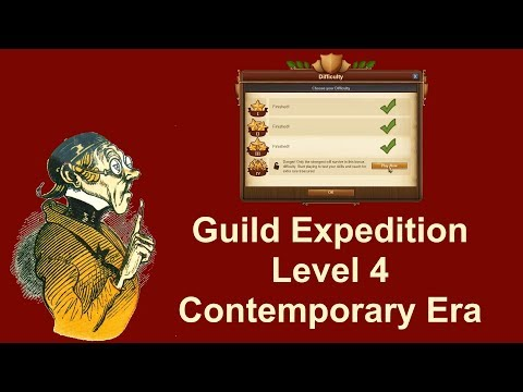 FoEhints: Guild Expedition Level 4 Contemporary Era in Forge of Empires