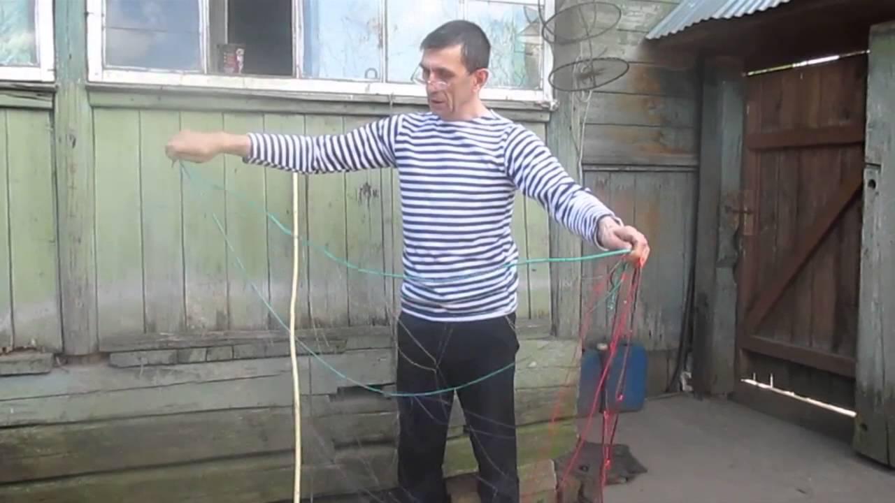 Поплавковые и грузовые шнуры для посадки рыболовных сетей позволяют исключить западание оснастки в ячейки сетевого полотна, а значит запутывания сети во время установки, выборки и снятия.