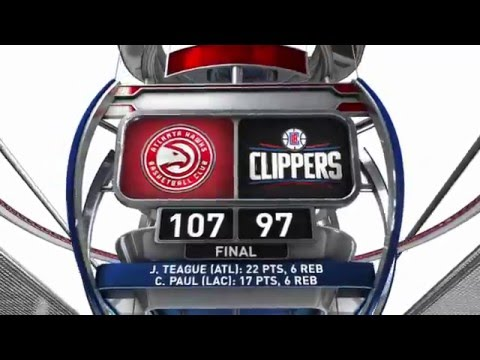 Atlanta Hawks vs Los Angeles Clippers - March 5, 2016