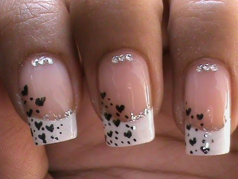 French Manicure Nail Art Designs : How to do Step by Step at Home? - French Manicure Nail Art Designs : How To Do Step By Step At Home
