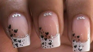 French Manicure Nail Art Designs : How to do Step by Step at Home?