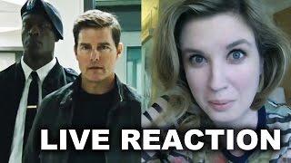 Jack Reacher Never Go Back Trailer Reaction