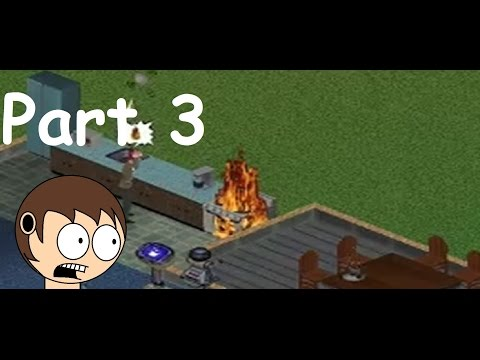 FIRE!-Let's Play The Sims 1 Part 3