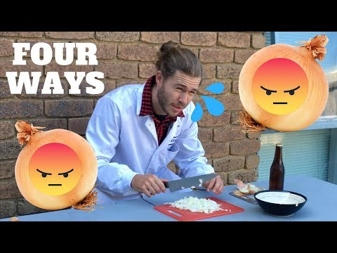 HOW TO CUT ONIONS WITHOUT CRYING (SCIENCE)