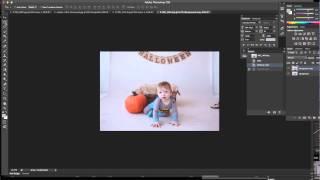 Como editar/aumentar o fundo em uma foto em PS