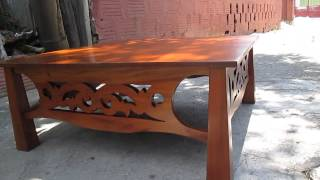 Past And Present Woodwork™ Only One In The World Ginger Bread Center Table