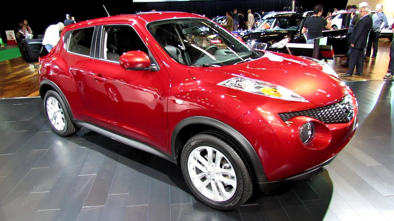 2013 nissan juke sl awd exterior and interior walkaround 2013 montreal auto show youtube. Black Bedroom Furniture Sets. Home Design Ideas