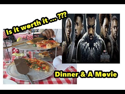 #76 IS IT WORTH IT? RESTAURANT (Grimaldi's) AND MOVIE (Black Panther) REVIEW