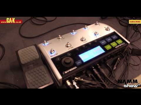 TC Helicon - Voicelive 3 at NAMM 2014