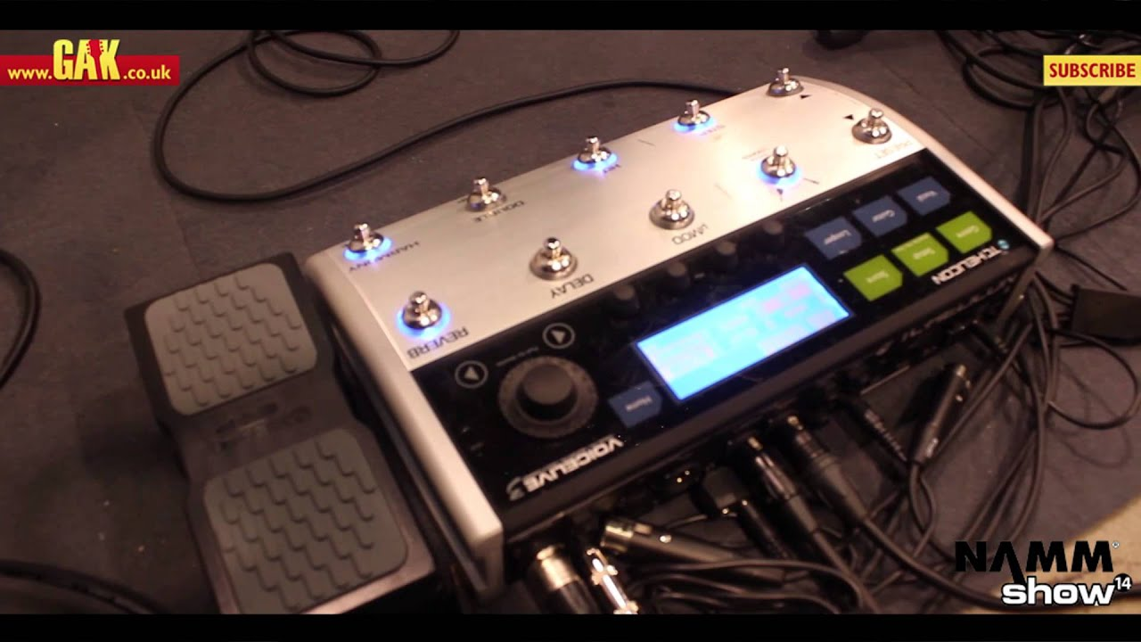 tc helicon voicelive 3 at namm 2014 youtube. Black Bedroom Furniture Sets. Home Design Ideas