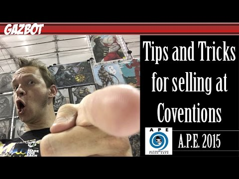 Tips and Tricks for Selling at Conventions: A.P.E. 2015