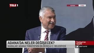 Adana B.B. Başkan Adayı Zeydan Karalar - Türkiye'nin Seçimi (26 Mart 2019)