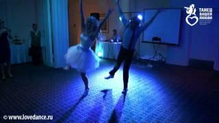 Чумачечий свадебный танец в стиле рок-н-ролл!