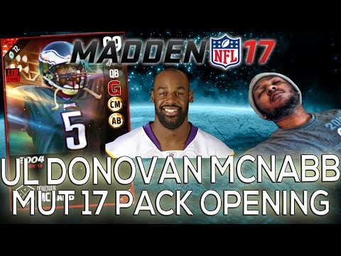 99 OVERALL DONOVAN MCNABB! WHY NOT ME! MUT 17 PACK OPENING | Madden 17 Ultimate Team