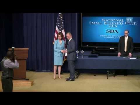 National Small Business Week 2015 Awards Ceremony