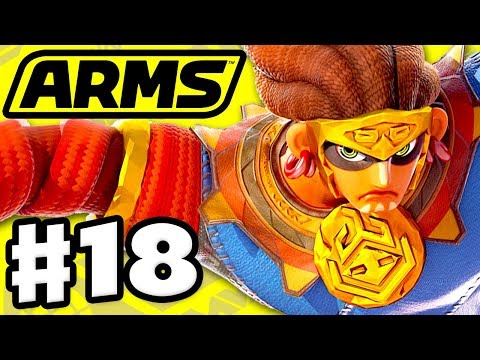 ARMS - Gameplay Walkthrough Part 18 - Misango Party Matches! New Update! (Nintendo Switch)