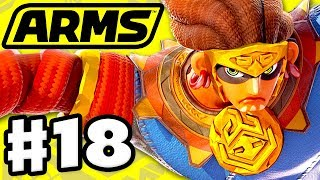 ARMS - Gameplay Walkthrough Part 18 - Misango Party Matches! New Update! (Nintendo Switch) thumbnail