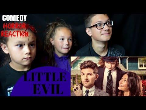 LITTLE EVIL Official Full online Reaction!!!