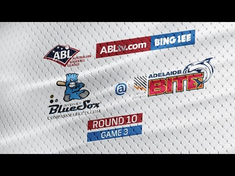 REPLAY: Sydney Blue Sox @ Adelaide Bite, R10/G3