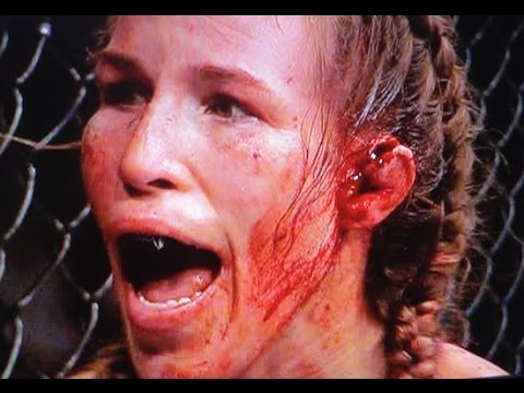 Image result for womens ufc fighter with ear hanging off