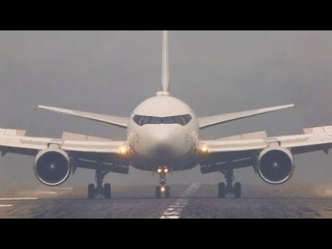 BOEING 767 with eyebrows ARRIVAL - Roman Abramotvich's PRIVATE Boeing 767