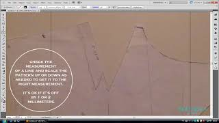 Digitizing a pattern in Illustrator