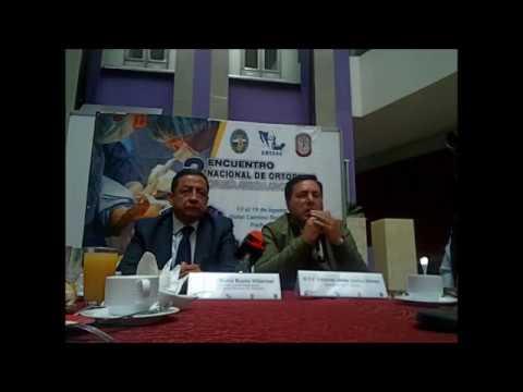 MASS MEDIA-Hidalgo, sede del Tercer Encuentro Nacional de Ortopedia
