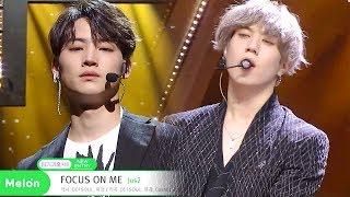 Jus2 - Focus On Me [SBS Inkigayo Ep 994]