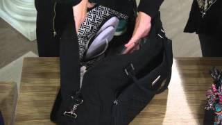 Vera Bradley Microfiber Weekender Bag with Shawn Killinger
