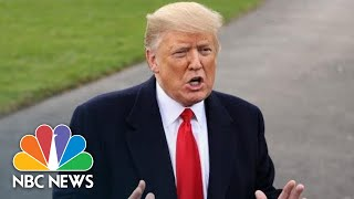 President Donald Trump Says He May Send 15,000 Troops To Border, Previously Said 5,000 | NBC News