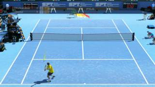 Virtua Tennis 2009 - Gameplay (PC) , Español - Nalbandian vs Nadal [HD] .