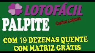 Lotofácil Palpite De 19 Dezenas Para O Concurso 1735