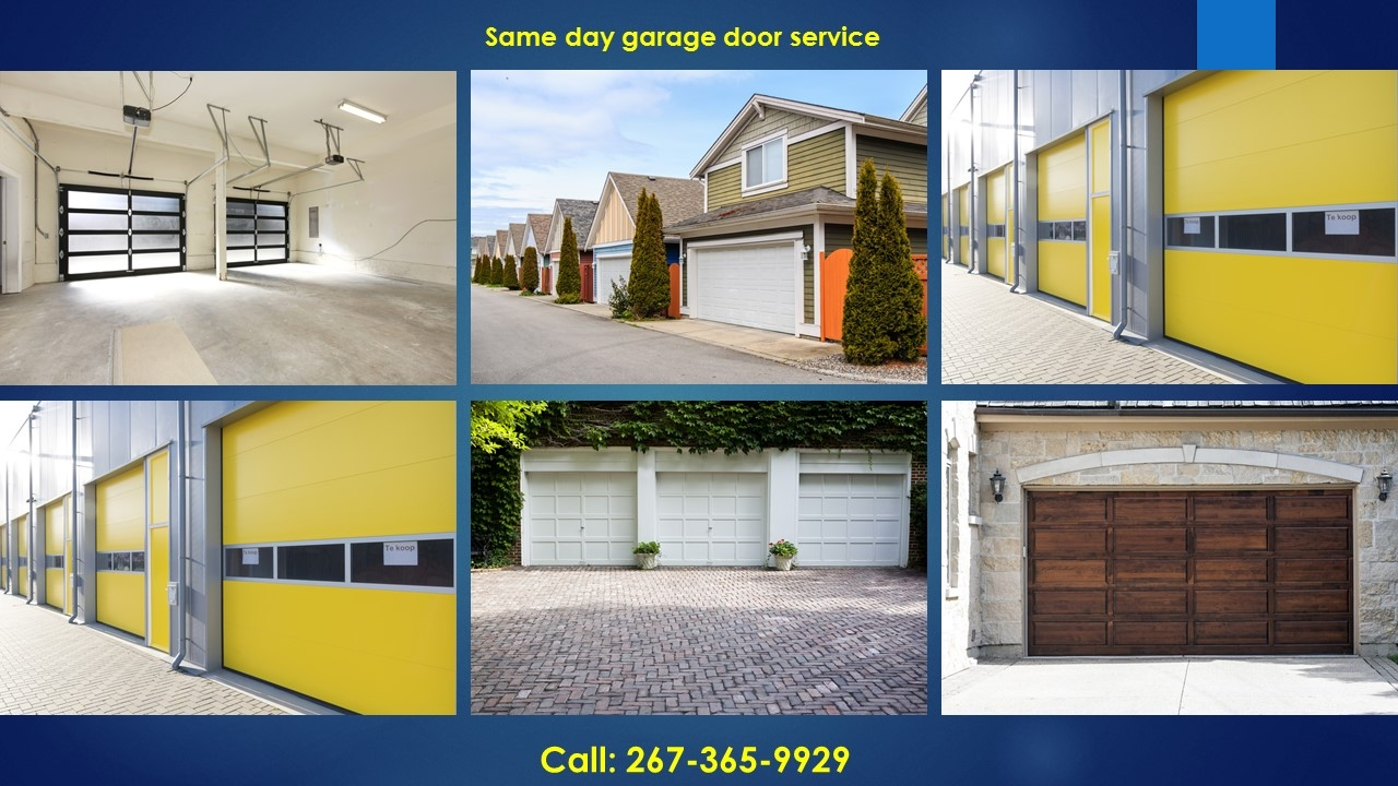 Garage door repair philadelphia 267 365 9929 overhead door for Garage door repair philadelphia