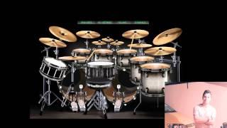 Primer video-Matias Allende-Bateria Virtual   Green Day Boulevard Of Broken Dreams