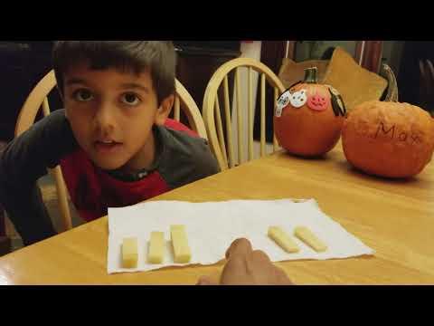 5 year old Max (Rashkis Elementary School) solves a fun Math problem (Pigeon Hole Theorem)