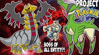 BATTLING THE BOSS OF ALL ENTITY (GOT LUCKY!) | Roblox Project Pokemon