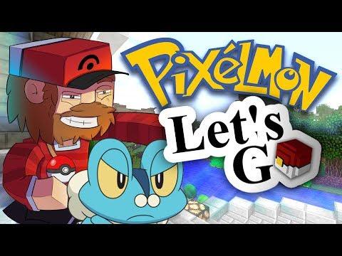 Pixelmon: Let's Go - To Spawntown! (Minecraft Pokemon) Episode 1