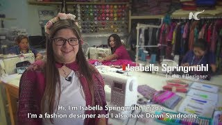 Latin Marvel First Fashion Designer With Down Syndrome Youtube
