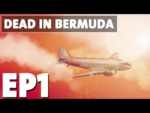 Let's Play Dead In Bermuda Episode 1 - Plane Crash - Survival Management Game