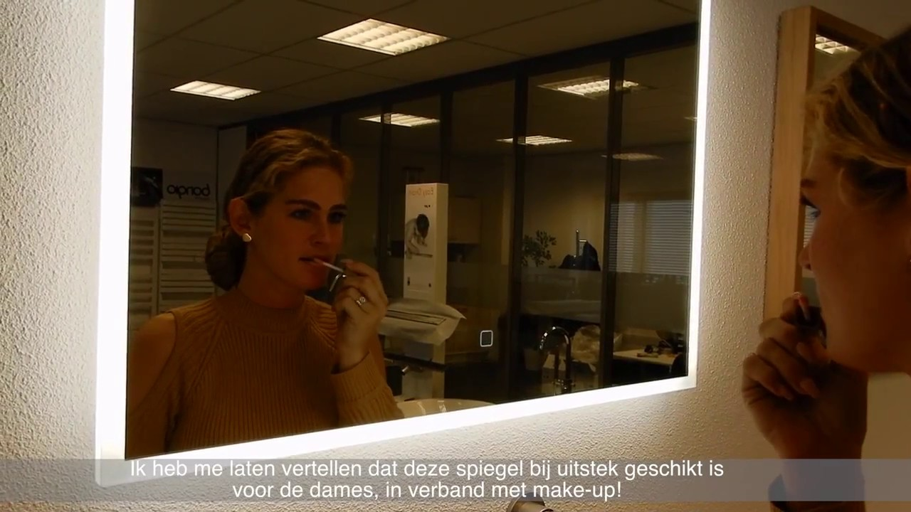 Spiegel Met Led : Frank co wiesbaden quatro led spiegel met dimfunctie