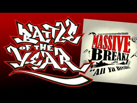 DJ M@R [Massive Breakz] - B Boy Style (All Ya Breakz album) Battle Of The Year BOTY Soundtrack