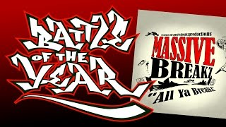 DJ M@R [Massive Breakz] - B Boy Style (All Ya Breakz album) Battle Of The Year BOTY Soundtrack