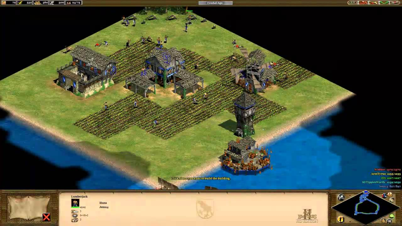 Resource Island Map   Multiplayer   Age of Empires 2 HD   YouTube Resource Island Map   Multiplayer   Age of Empires 2 HD