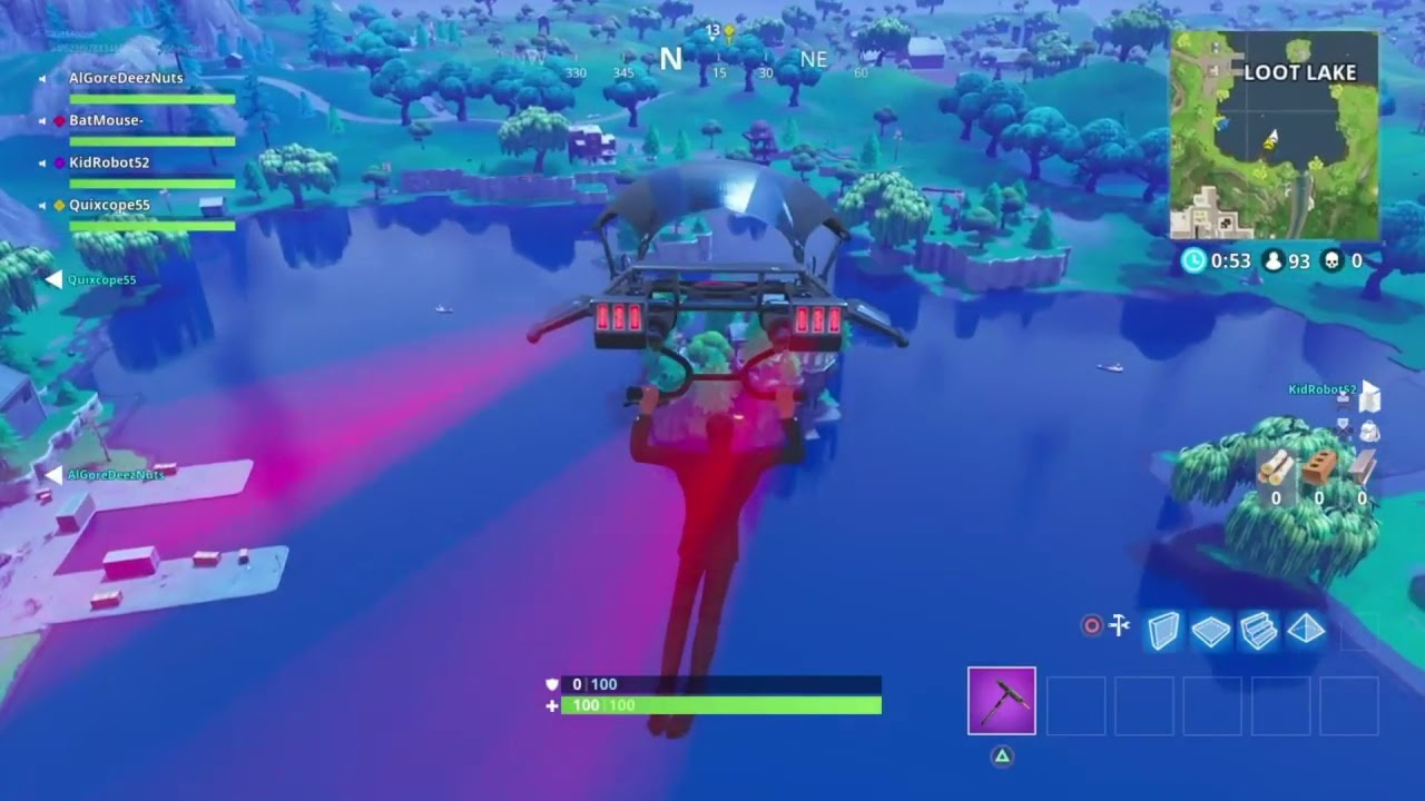 New Fortnite Week 8 Loot Lake Treasure map    YouTube New Fortnite Week 8 Loot Lake Treasure map