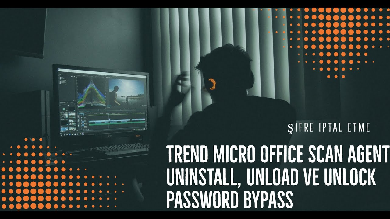 Trend Micro OfficeScan 10 6 Şifresiz Kaldırma Uninstall Trend Micro  OfficeScan 10 6 without a passwo