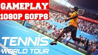Tennis World Tour Gameplay (PC)
