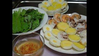 BÁNH CĂN - Cách làm Bánh Căn đơn giản Mini Pancakes簡単な! ミニパンケーキの作る方