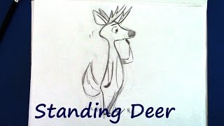 How to Draw a Deer - Step by Step for Beginners